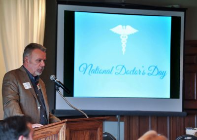 Asante Doctor's Day presentation