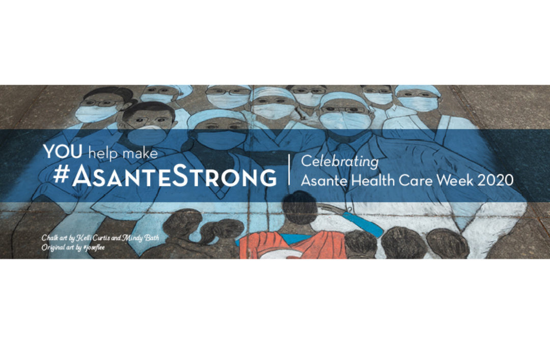 Recognize a Caregiver in Honor of Asante Health Care Week