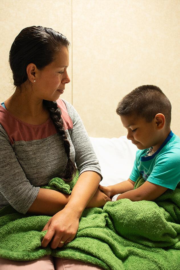 pediatric unit cancer treatments