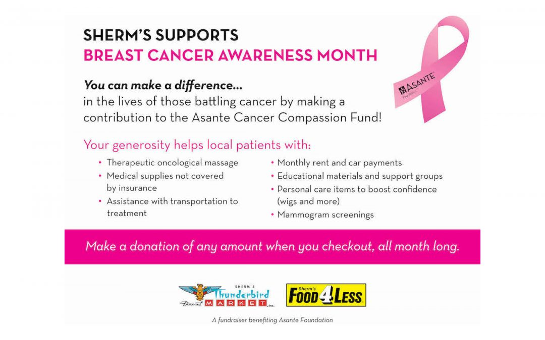 Sherm's Supports Breast Cancer